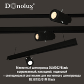 Luminaire DL18783_01M for magnetic busbar trunking