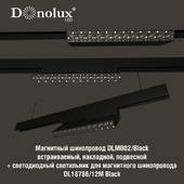 Luminaire DL18786_12M for magnetic busbar trunking