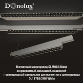 Luminaire DL18786_24M for magnetic busbar trunking