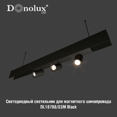 Luminaire DL18788_03M for magnetic busbar trunking