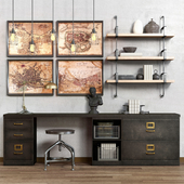 Restoration hardware cabinet decor set_vol5