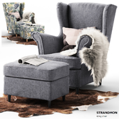 chair Strandmon Ikea / chair STRANDMON Ikea