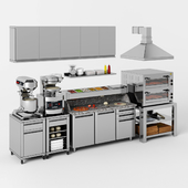Equipment for pizzeria