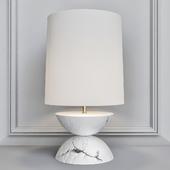 Baker Obsidian Table Lamp