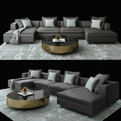 MAGNUS Restoration Hardware + MOORE  COFFEE TABLE