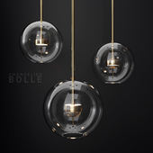 Giopato & Coombes Bolle 1 Bubble CLEAR/GOLD
