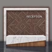 Reception + Wall Panel