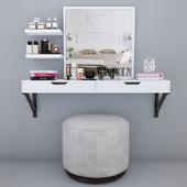 Dresser console decor set