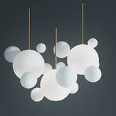 ПОДВЕСНОЙ СВЕТИЛЬНИК GIOPATO & COOMBES BOLLE BLS 14L CHANDELIER MILK