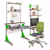 A set of furniture for the student