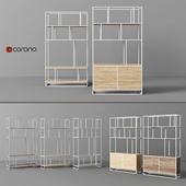 Cosmorelax shelving | Makella, Makella New | White