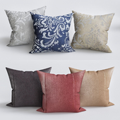 Wynkoop Faux leather Throw Pillow
