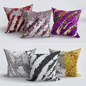 Laraine Sequin Throw Pillow