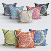 Courts Outdoor Throw Pillow