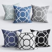 Southlake Cotton Throw Pillow Cover