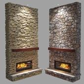 Fireplace (stone)