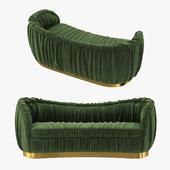brabbu dakota velvet sofa