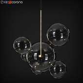 Suspension light Giopato & Coombes Bolle bls 6 Lamp