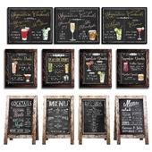 Chalkboard for cafe 1