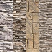 Stone Walls set 16