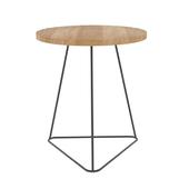 Coffee table with oak countertop kuri oak La Redoute Interieurs