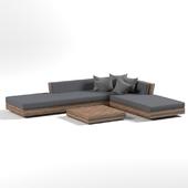 Livingroom Sofa + table