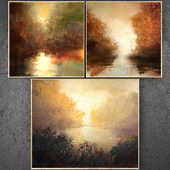 Paintings abstract | set 295