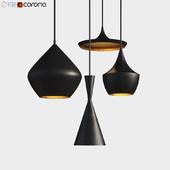 Beat Light chandelier Set Tom Dixon Loft-Concept