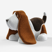 Plush Basset Hound (soft toy)