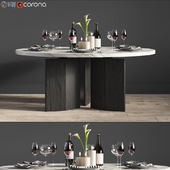 Minotti Morgan Dinning Table