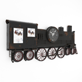 Wall Clock Train