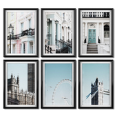 A series of posters about London.