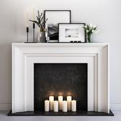 Decorative fireplace 8