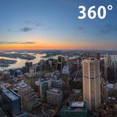 360 CITY PANORAMA EVENING