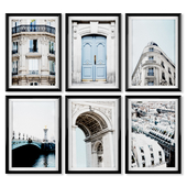 A series of posters about Paris.