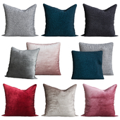 Fringe-trimmed Cushion Cover H & M