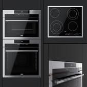 AEG - an oven BPM742320M, a compact oven KMM761000M and a hob HK563402XB