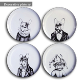 Decorative plate set 6