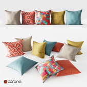 Decorative Pillows | Bright Set