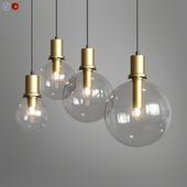 Penball Lampatron Minimalist lamp-pendant glass ball