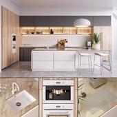 Kitchen Nolte Nature (vray GGX, corona PBR)