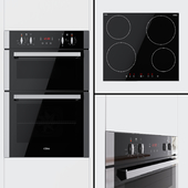 CDA - Double oven DC940SS and hob HN6111FR