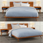 Modern bed 01