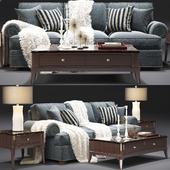 Thomasville_Ashby Sleeper Sofa