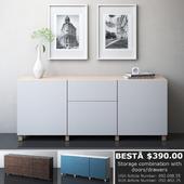 IKEA BESTA Storage combination with drawers