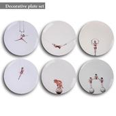 Decorative plate set 9