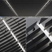 Подвесной потолок реечный 17