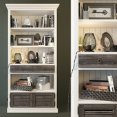 Bookcase Folk (smoky). Wellige