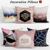 Decorative pillows set 143