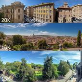 Panoramas of Rome